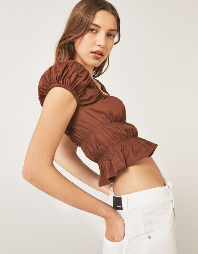 Catálogo Bershka para mujer Verano 2021 | Camisetas, tops y camisas
