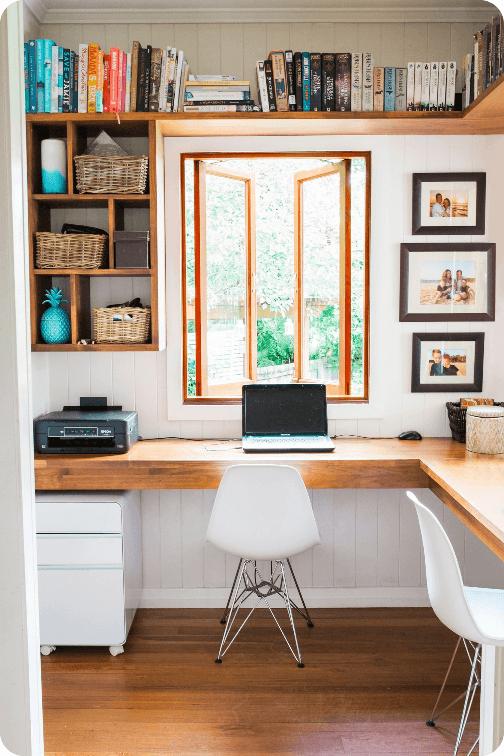 Cómo convertir una habitación en despacho