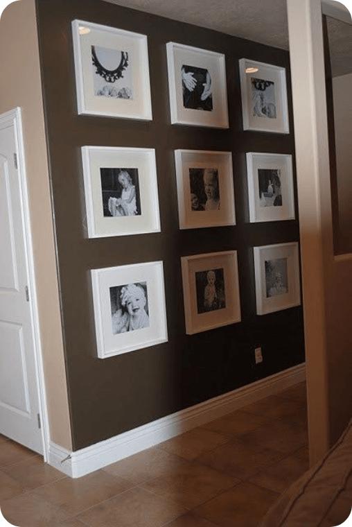 galería de fotos o galería de arte para la pared