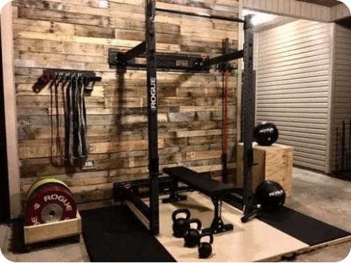 convertir una habitación en gimnasio