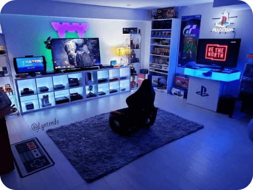 habitación gamer