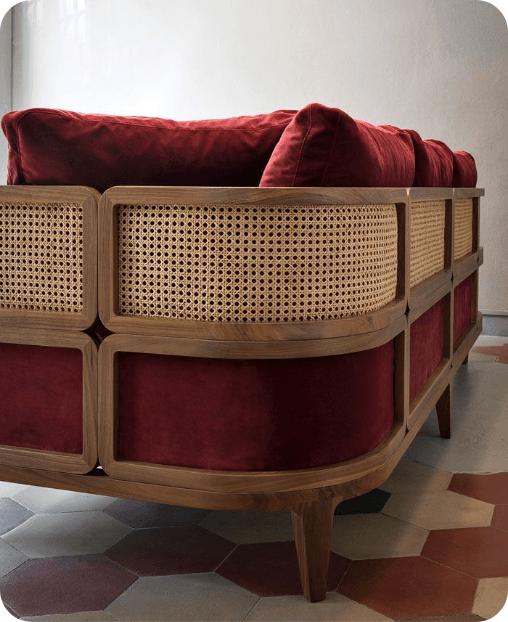 muebles de rejilla