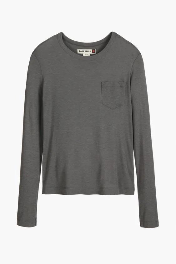 Camisetas de Mujer ZARA para Otoño Invierno 2021-2022